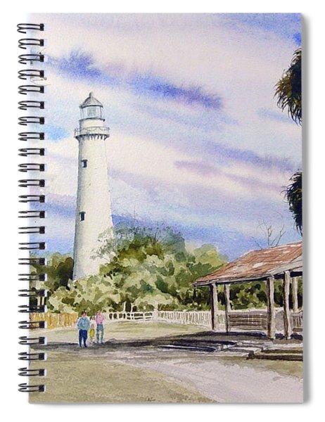 St. Simons Island Lighthouse Spiral Notebook