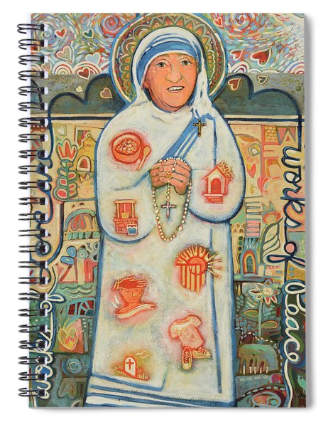 St. Teresa Of Kolkata Spiral Notebook