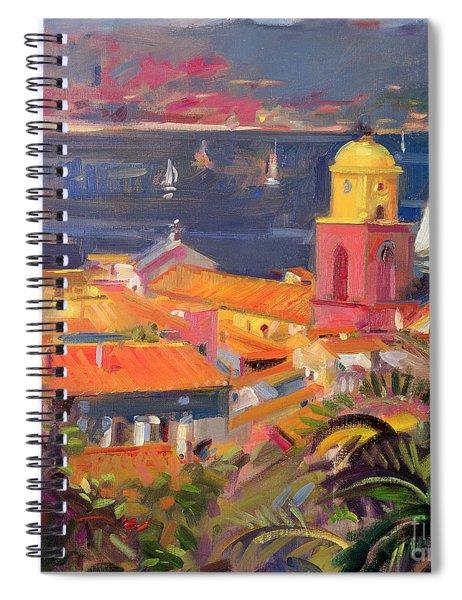 St Tropez Sailing Spiral Notebook