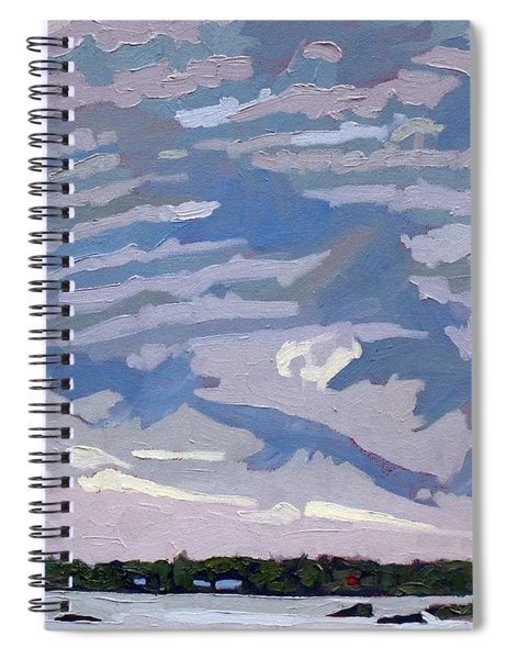 Stable Layer Spiral Notebook