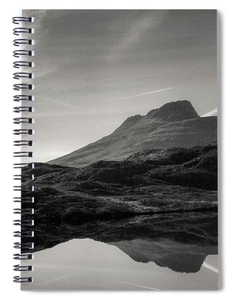 Stac Pollaidh Reflection Spiral Notebook