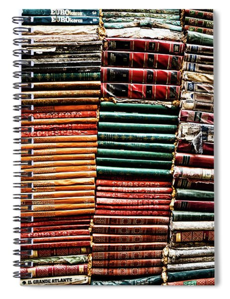 Stacks Of Books Spiral Notebook