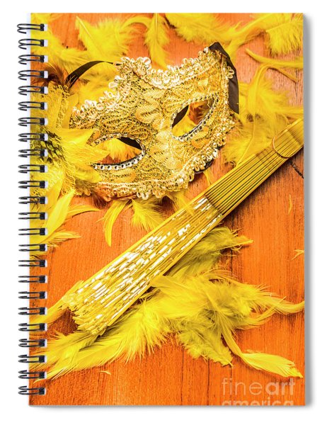 Stage And Dance Still Life Spiral Notebook