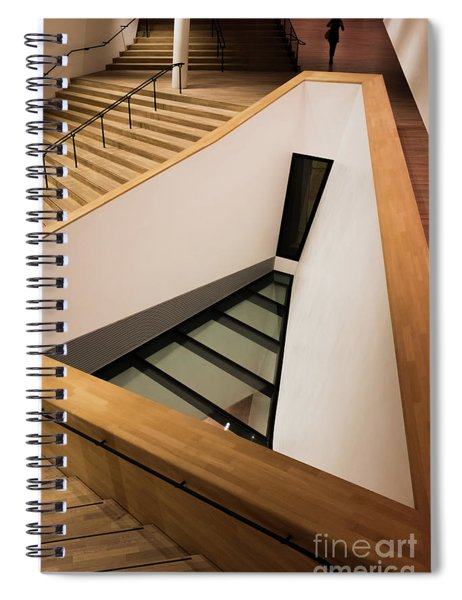 Staircase In Elbphiharmonic Spiral Notebook