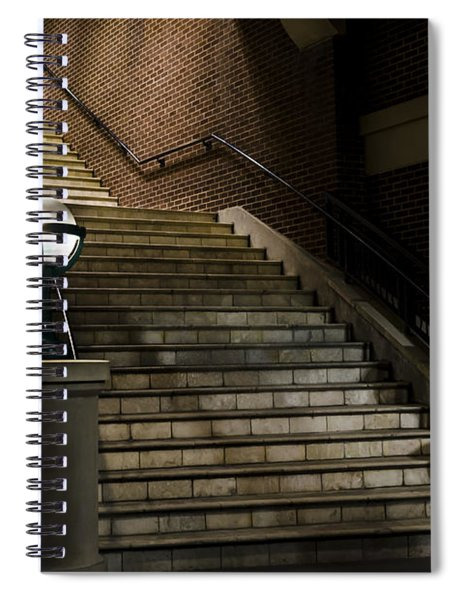 Staircase On The Blvd. Spiral Notebook