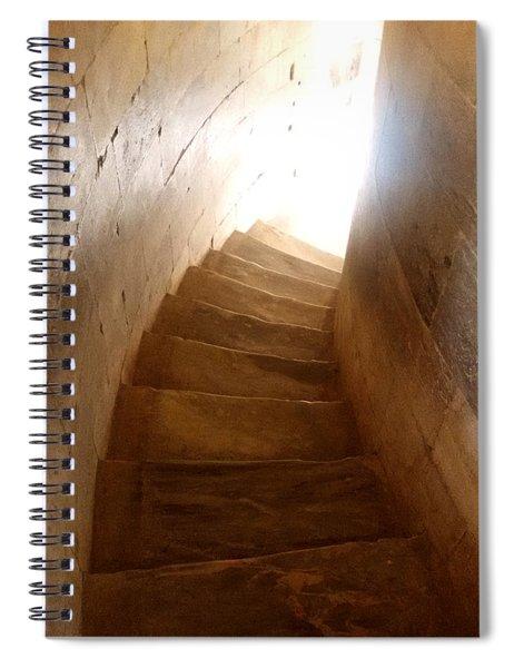 Stairway From Heaven Spiral Notebook