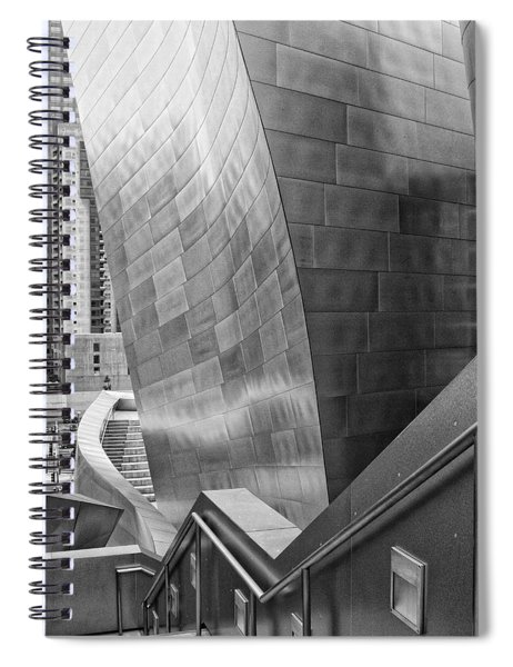 Stairway To Downtown Spiral Notebook