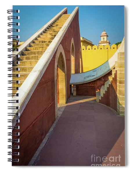 Stairway To Heaven Spiral Notebook by Inge Johnsson