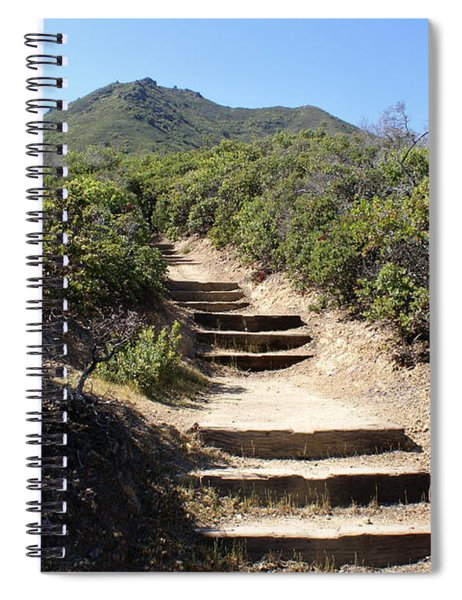 Stairway To Heaven On Mt Tamalpais Spiral Notebook