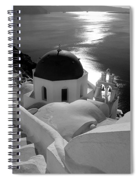 Stairway To The Church Spiral Notebook