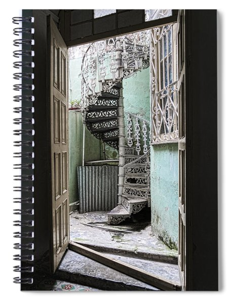 Stairway To Up Spiral Notebook