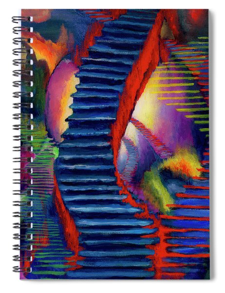 Stairways Spiral Notebook