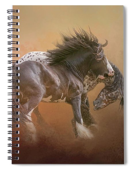 Stallion Play Spiral Notebook