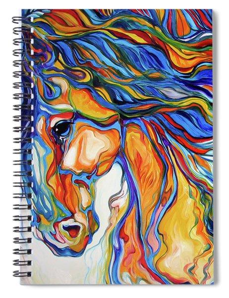 Stallion Southwest By M Baldwin Spiral Notebook