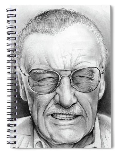 Stan Lee Spiral Notebook