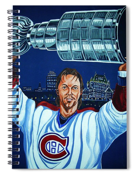 Stanley Cup - Champion Spiral Notebook