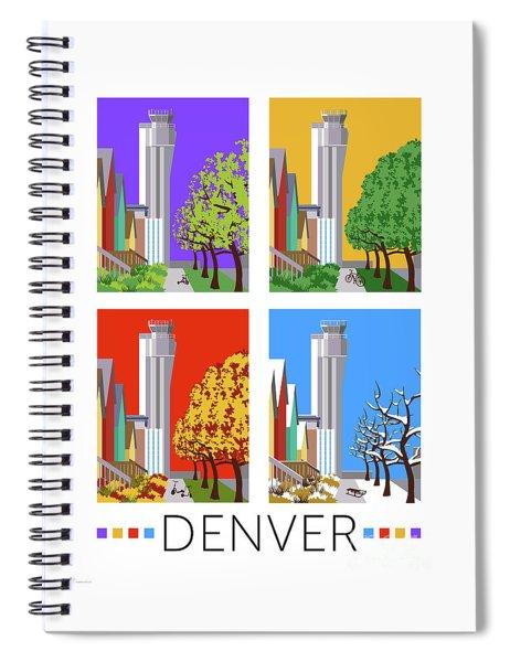 Stapleton Four Seasons Spiral Notebook