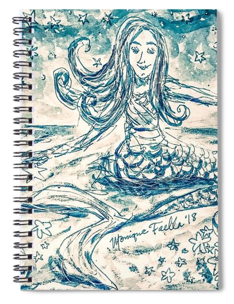 Star Bearer Mermaid Spiral Notebook