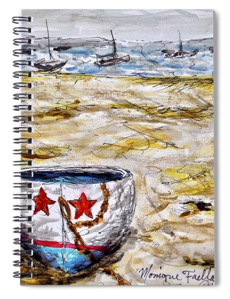 Star Boat Spiral Notebook
