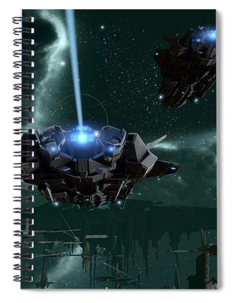 Star Conflict Spiral Notebook