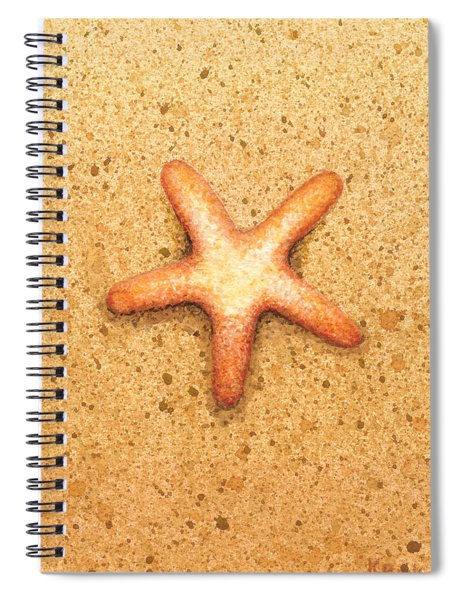 Star Fish Spiral Notebook