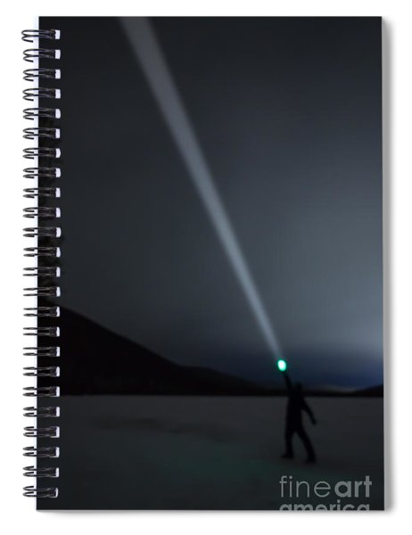 Star Searcher Spiral Notebook