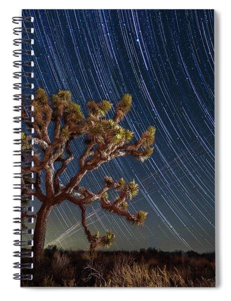 Star Spun Spiral Notebook