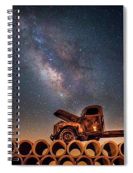 Star Struck Truck  Spiral Notebook