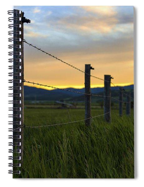 Star Valley Spiral Notebook