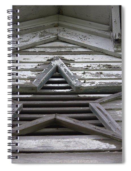 Star Window Spiral Notebook