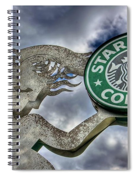Starbucks Coffee Spiral Notebook