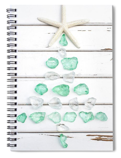 Starfish Christmas Tree Spiral Notebook