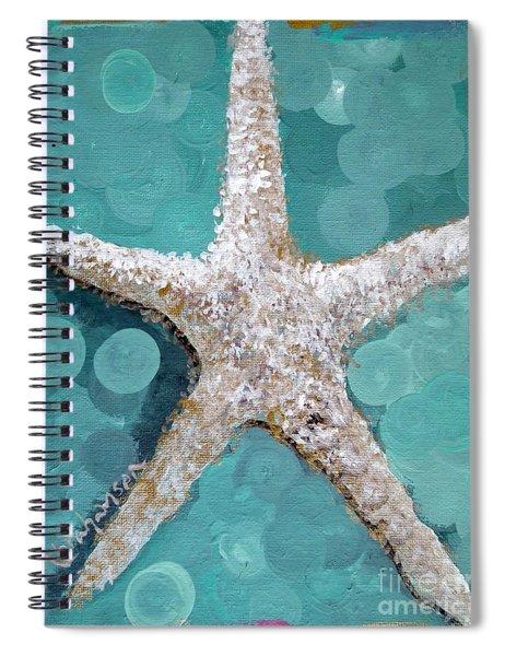 Starfish Goldie Spiral Notebook