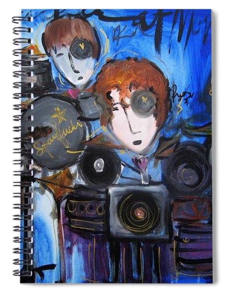 Starfucker At Monolith Spiral Notebook