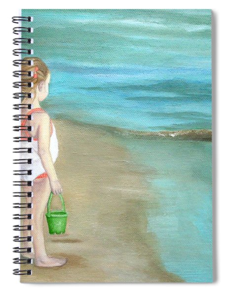 Staring At The Sea Spiral Notebook