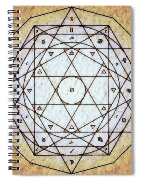 Starr Matrixx Spiral Notebook by Derek Gedney