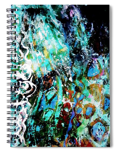 Starry Contribution Spiral Notebook