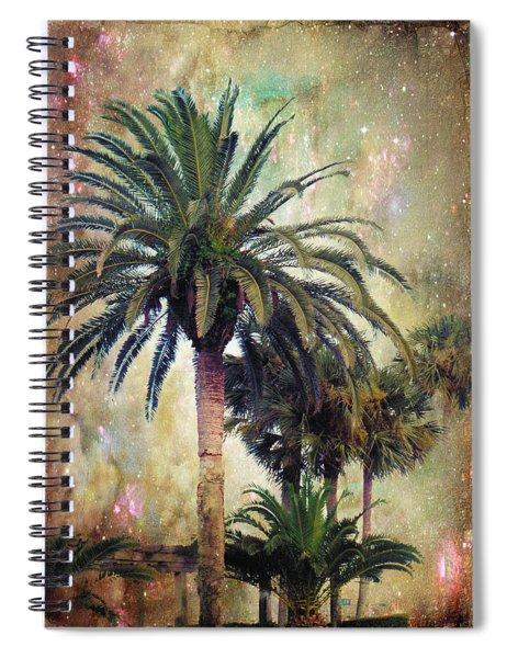 Starry Evening In St. Augustine Spiral Notebook