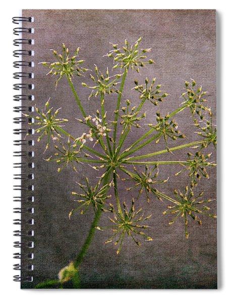 Starry Flower Spiral Notebook