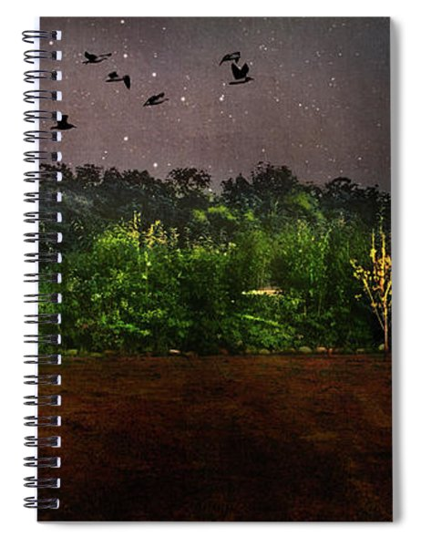 Starry Night In Littlestown, Pennsylvania Spiral Notebook