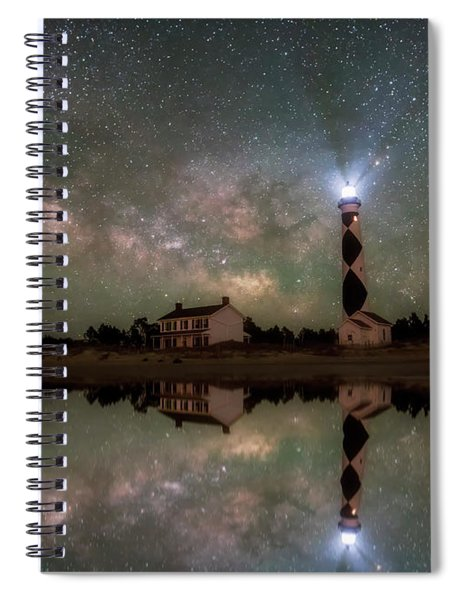 Starry Reflections Spiral Notebook