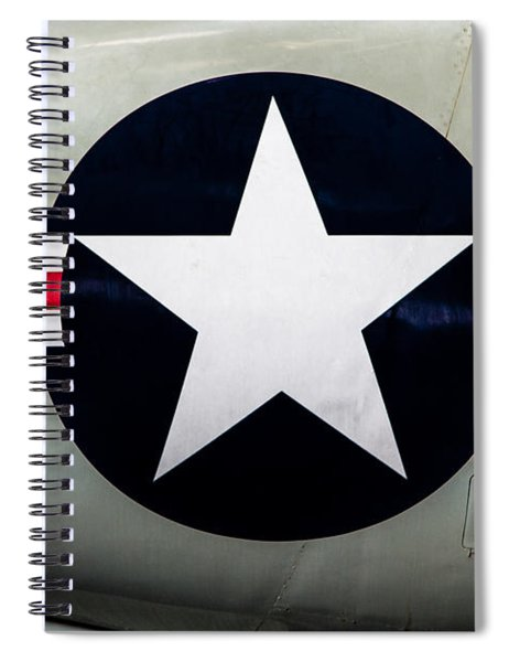 Stars And Bars Spiral Notebook