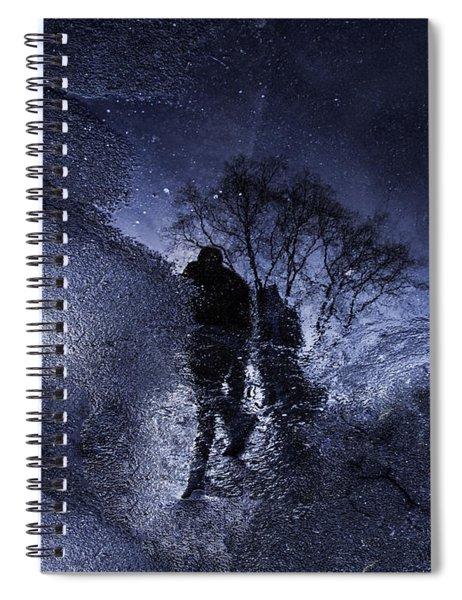 Stars Walking Spiral Notebook