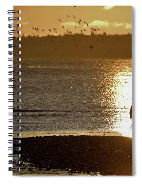 Start Of A New Day 2 Spiral Notebook