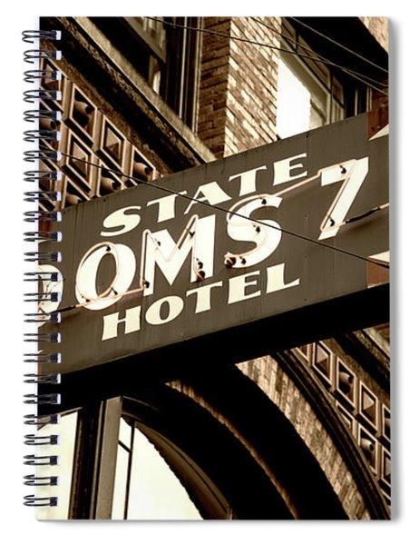 State Hotel - Seattle Spiral Notebook