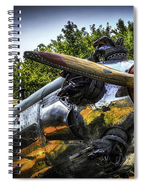 Static And Shiny Spiral Notebook