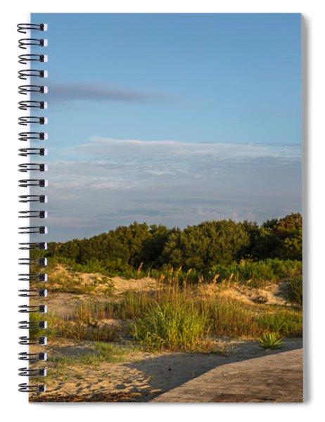 Station 18 1/2 On Sullivan's Island Spiral Notebook