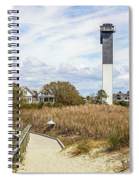 Station 18 On Sullivan's Island, Sc Spiral Notebook