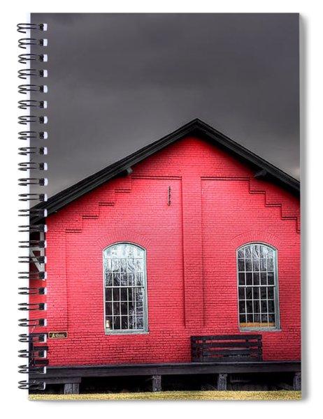 Station House Spiral Notebook