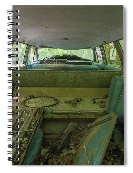 Station Wagon In Color Spiral Notebook